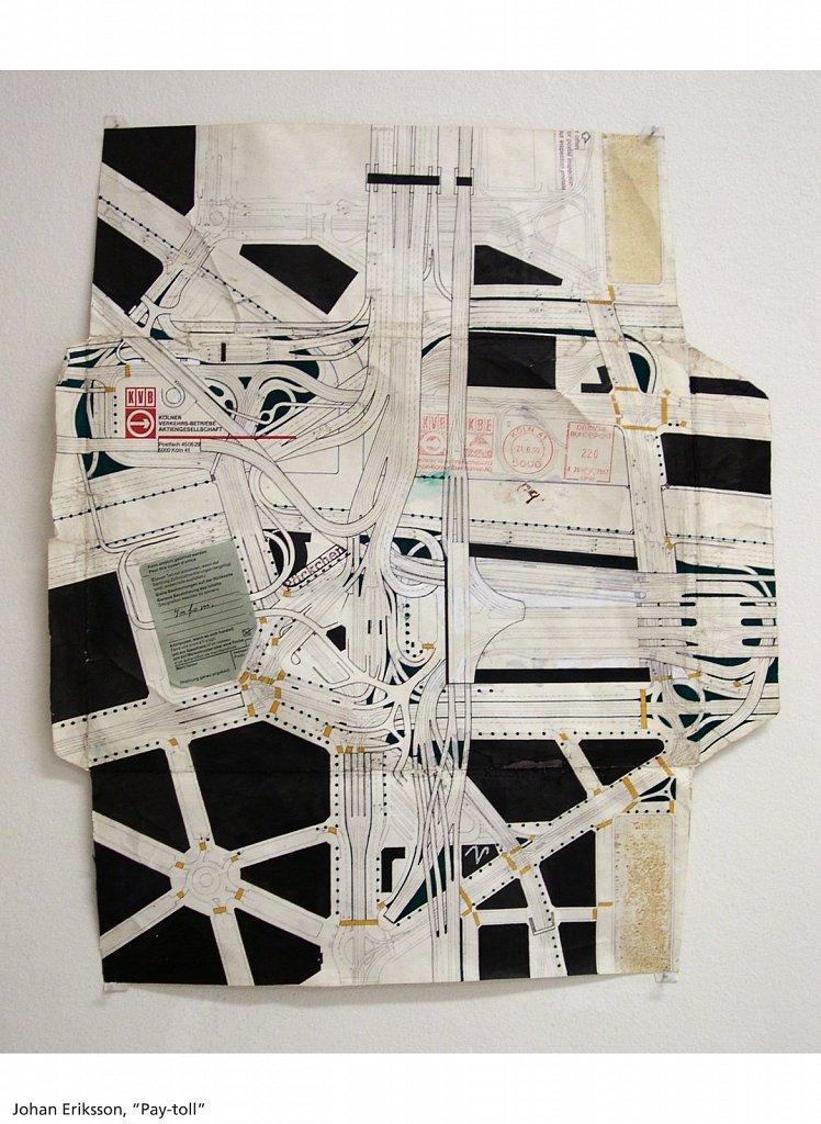 Pay Toll, 2003, 38 x 45 cm, blyerts och tusch