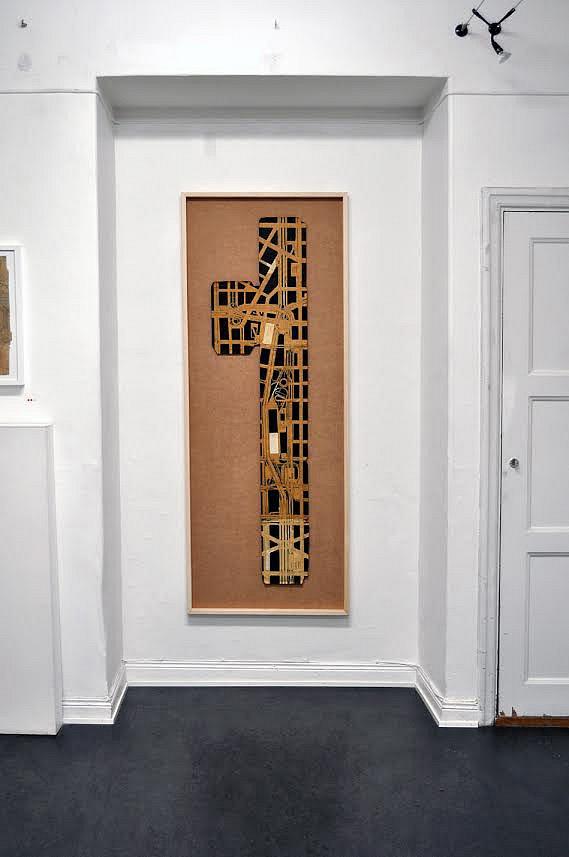 237th Street, 2006, 156 x 39 cm, blyerts och tusch